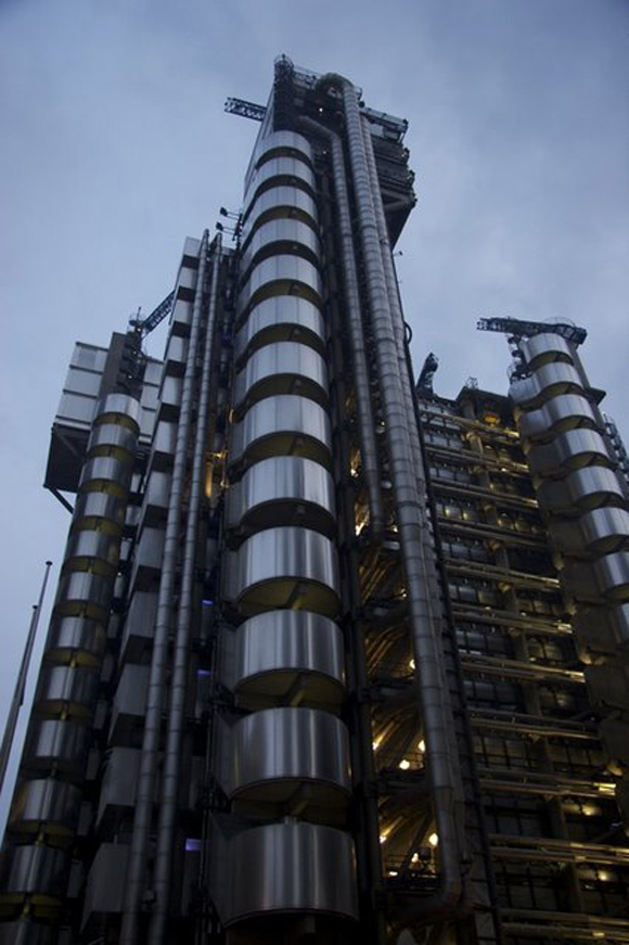 Lloyd's building (London, UK)