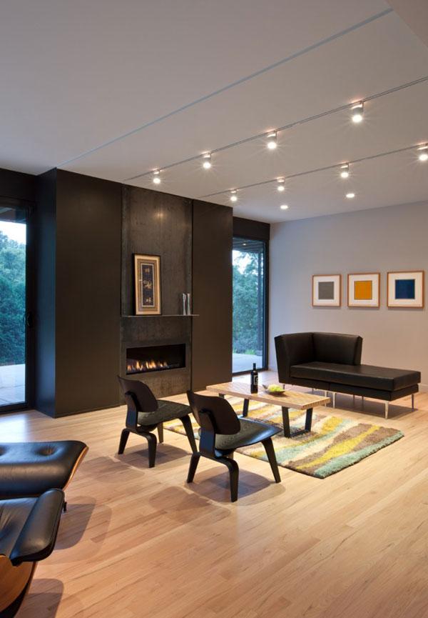 Elegantna in sodobna hi a ta hi a z minimalisti nim for Colores para interiores casas minimalistas