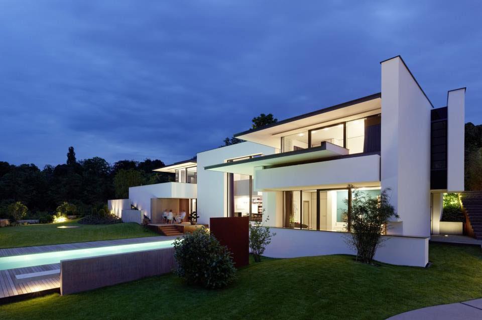vista house moderni ter sodobni videz hi e by alexander brenner architekten. Black Bedroom Furniture Sets. Home Design Ideas