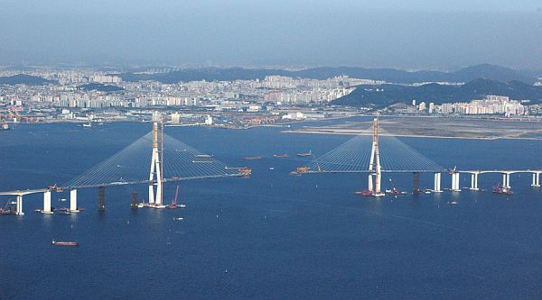 Čudoviti mostovi - Incheon Bridge