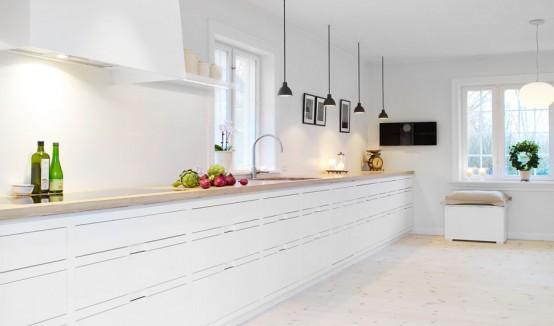 kuhinje bele barve 13 stilskih belih kuhinj in skandinavski privdih