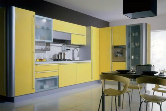 Kuhinje Rumene Barve Rumena Barva Kuhinj Nam Prina A Veliko Pozitivnega Optimizma In Sre E