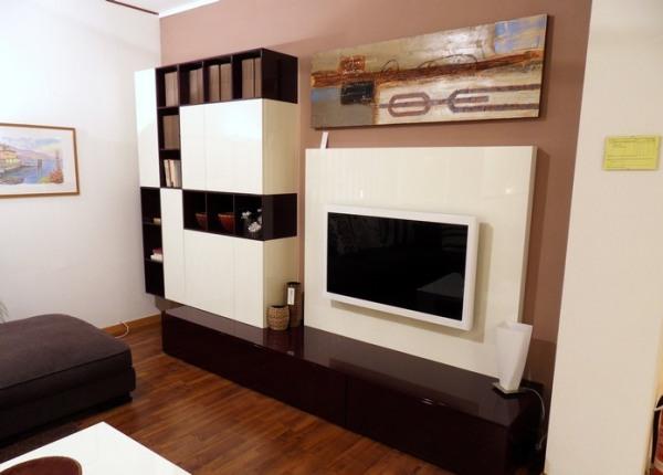 Lcd tv v dnevni sobi 20 idej kako umestiti in for Living room tv setup designs