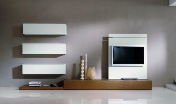 Lcd tv v dnevni sobi 20 idej kako umestiti in - Led panel designs furniture living room ...