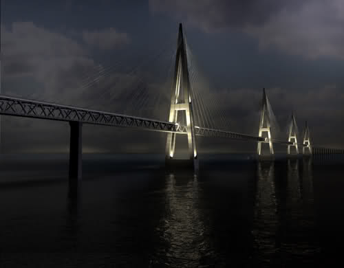 Najlepši mostovi - Fehmarn Belt Bridge