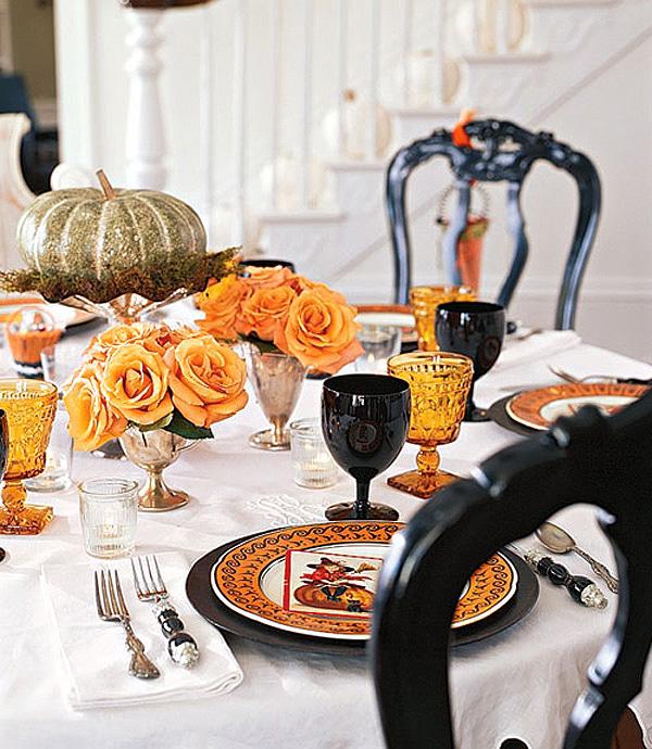 No arovnic dekoracija mize in pogostitev gostov kako for Decoration de table halloween