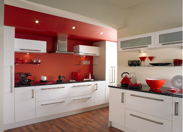 Obnova kuhinje predstavljamo vam 10 hitrih ter for Kitchen designs red and black