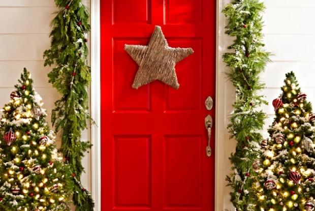 10 Preprostih zunanjih dekoracij - Predstavljamo vam ideje novih ter tradicio...
