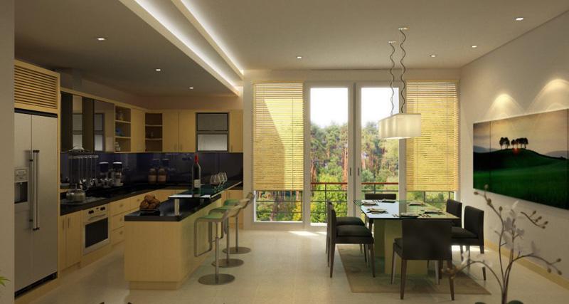 Sodobne in moderne jedilnice za la je odlo anje pri for Kitchen dining area decorating ideas