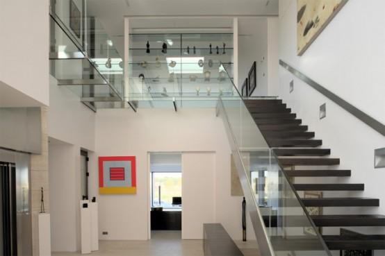 Steklene stopnice 10 steklenih stopni za va o moderno for Escaleras retractiles