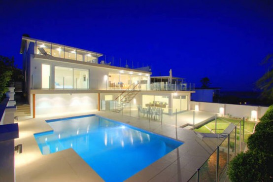 Ultra moderna hi a s pogledom na morje - Fotos de casas preciosas ...