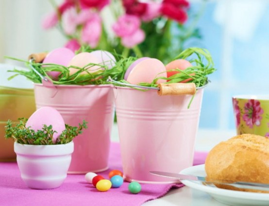 Velikonočne dekoracije z jajci