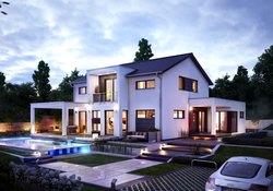Einfamilienhaus Neubau Modern